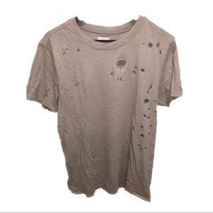 Hudson Jeans Distressed Crew Neck t-shirt
